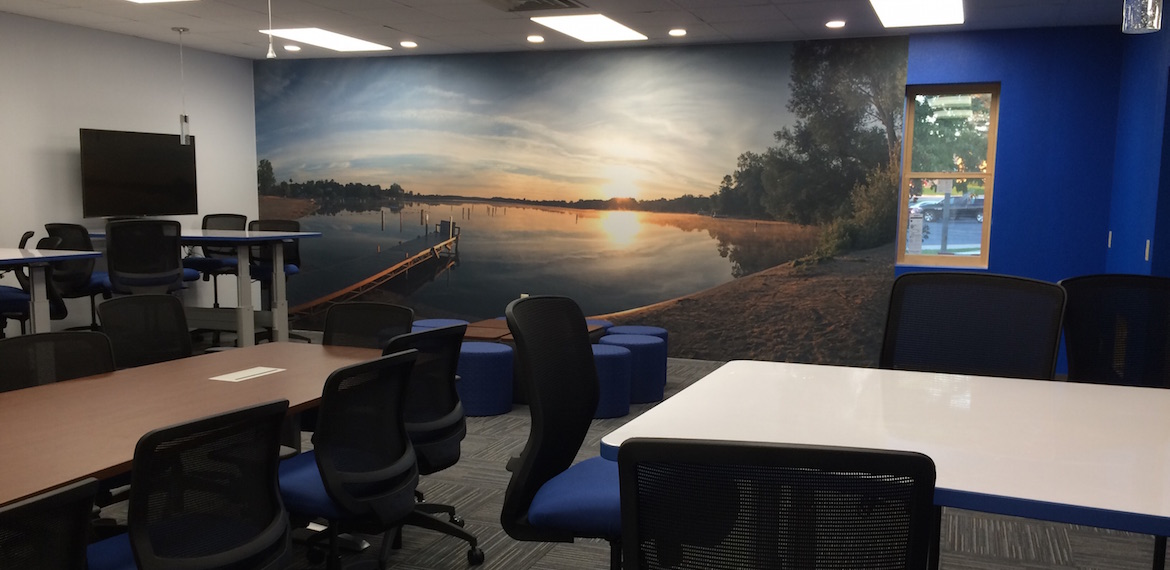 Need a large wall graphic?  We can help! Slider Image